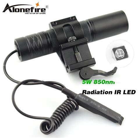 12 Infra Ir 850 Ir Booster Flashlight alonefire 850nm zoom infrared radiation ir led vision flashlight cing light