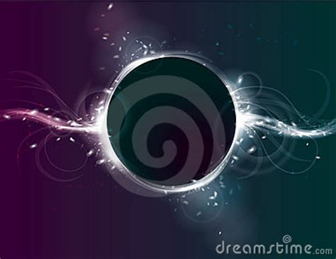 eclipse themes light glowing circle eclipse light effect background stock