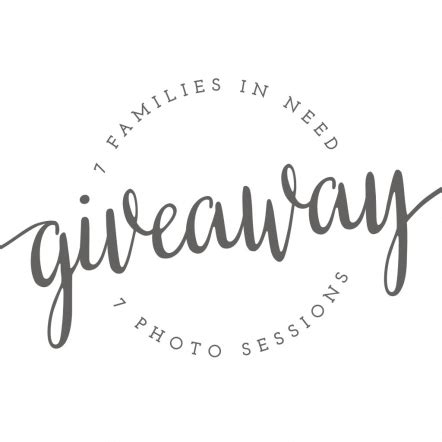 Giveaway Graphic - huge giveaway to people in need 7 photographers 7 free photo sessions 187 lindsay