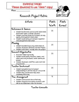 non fiction book report rubric research project rubric non fiction based by just