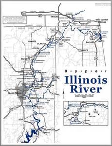 Map Of Illinois Rivers by Map Of The Illinois River Oklahoma