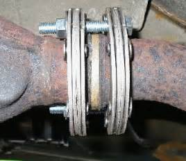 Exhaust System Repair Flange Exhaust Split Flange Repair Kit
