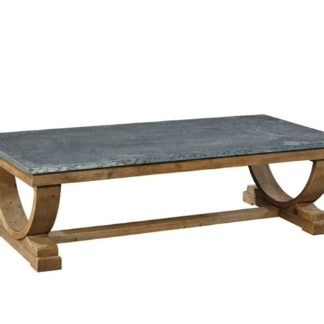 Zinc Top Coffee Table Ready To Ship Furniture