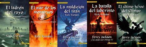libro percy jackson los dioses percy jackson y los dioses del olimpo rick riordan coleccion 5 libros pdf multi