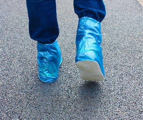 Shoes Coat Jas Hujan Sepatu Waterproof Bahan Pvc Termasuk Sol cover hujan sepatu waterproof size m blue jakartanotebook