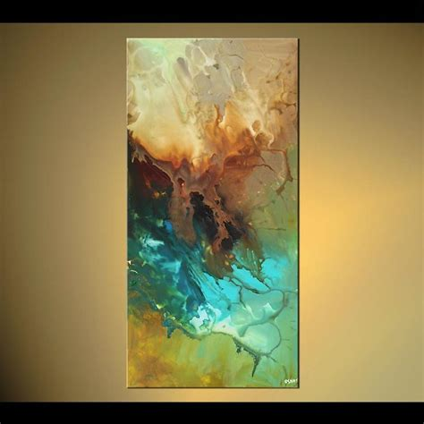 original abstract painting modern painting original abstract on canvas turquoise