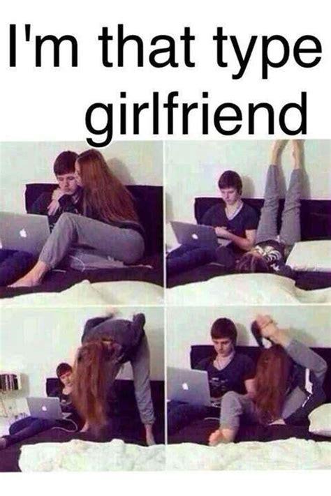 Love Girlfriend Meme - crazy gf cute stuff and love