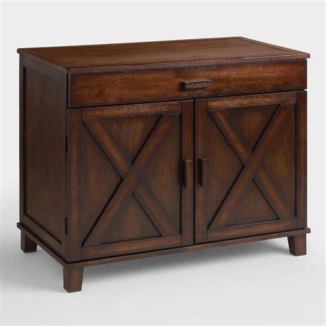 Desks World Market by Mahogany Verona Cabinet Desk World Market
