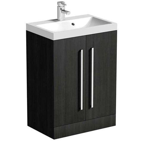 victoria plumb bathroom vanity units drift grey 2 door floor mounted unit basin victoria plumb 163 199 for the home