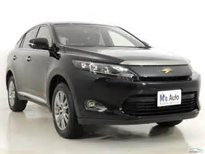 Toyota Total Electric Car Toyota Harrier 2015 Motors Co Th