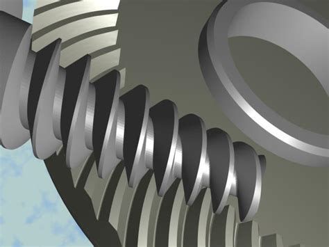 design and manufacturing of gears simple theory of worm face gears