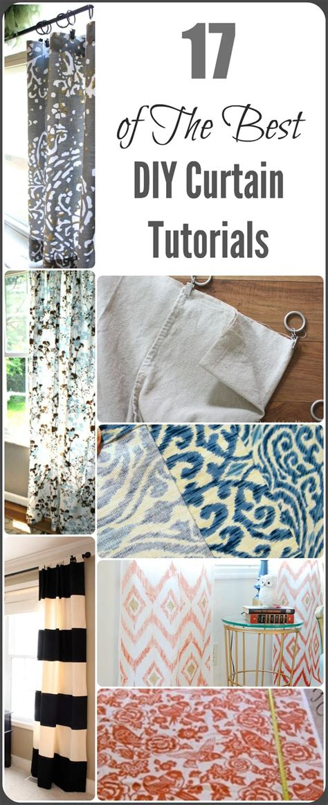 easy curtain tutorial 1000 ideas about diy curtains on pinterest diy curtain
