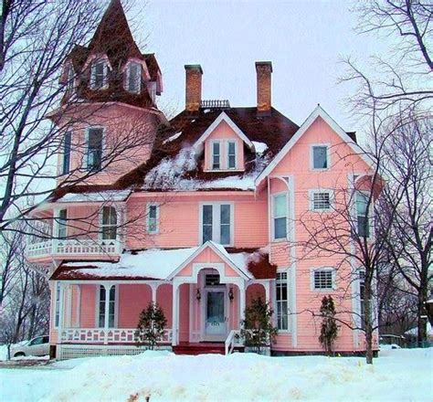 old pink house pink victorian house this old house pinterest