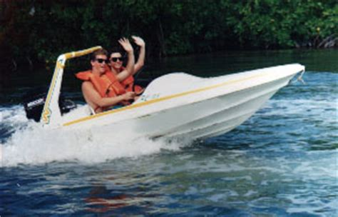 mini boats cancun your own mini speedboat through the mangroves of cancun