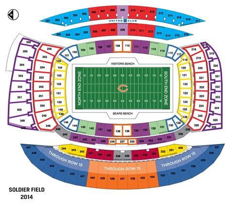 detroit lions 3d seating chart nfl stadium seating charts stadiums of pro football