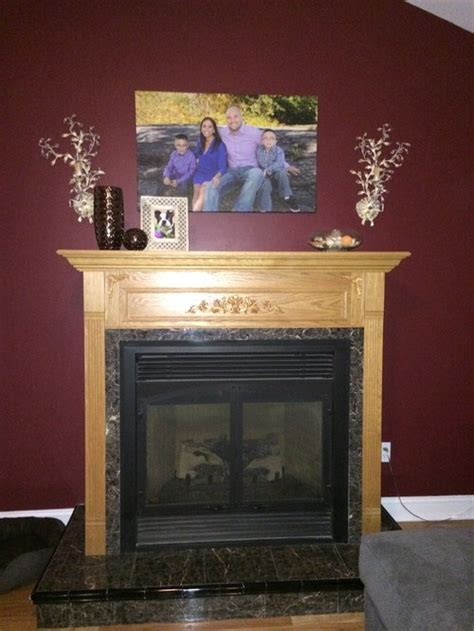 Paint Gas Fireplace by Can I Paint Or Stain A Gas Fireplace Mantel
