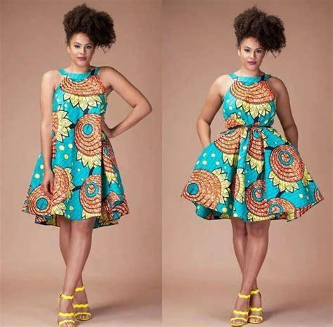 short ankara gowns ankara short dresses for bright ladies naija ng