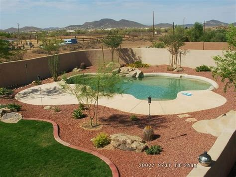 landscape around pool desert landscape design ideas internetunblock us