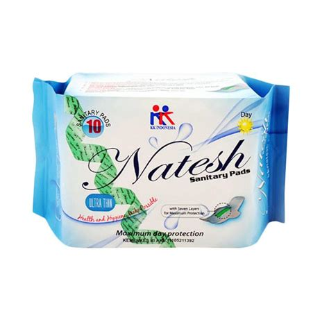 Natesh Sanitary Pantyliners With Magnetic Pembalut Herbal Jual Natesh Sanitary Pads Day Use With Magnetic Pantyliner