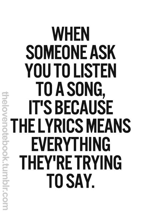 that is so true...sometimes i just want you to listen to a