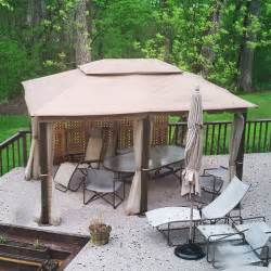 10x13 Pomeroy Domed Top Gazebo by 10 X 13 Gazebo Replacement Canopy Gaz 434714 Garden Winds