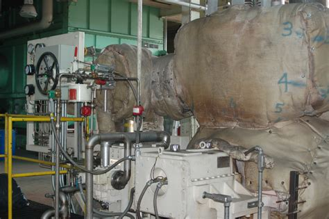 7 mw dresser rand steam turbine generator 12120 new