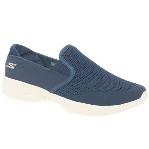 Skecher Go Walk 4 Sport skechers go walk 4 attuned womens sports shoes charles clinkard