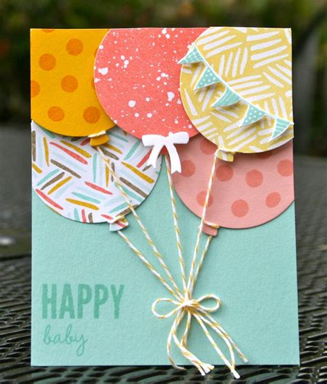 How To Make A Cool Birthday Card Out Of Paper - 25 best ideas about diy birthday cards on