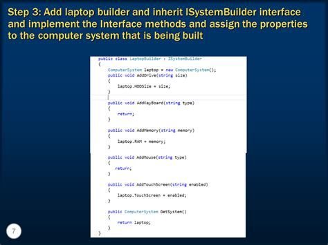 builder design pattern dot net tricks sql server net and c video tutorial builder design