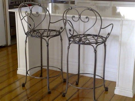 Antique Wrought Iron Bar Stools by Best 25 Wrought Iron Bar Stools Ideas On