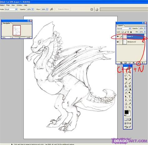 tutorial photoshop line art how to prepare dragon lineart in photoshop step by step