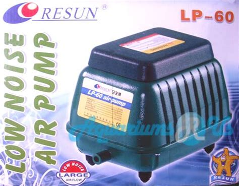 Resun Lp 40 By Duta Aquarium aquariums r us large diaphragm air pumps