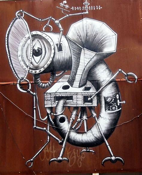 phlegm  mural  sheffield streetartnews streetartnews
