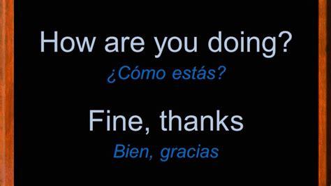imagenes ingles y español frases esenciales en ingl 233 s frases para principiantes en