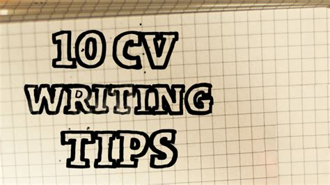 basic cv writing tips to kick start your hunt scouts