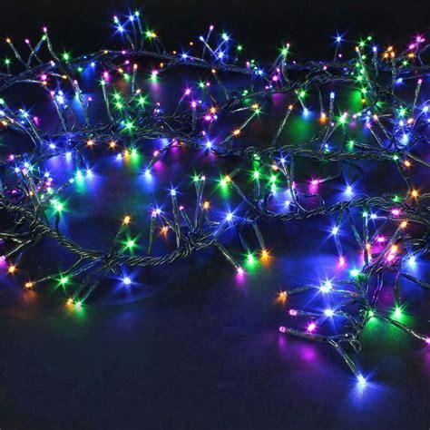 led cluster lights 1440 cluster led bulb light multi coloured buy at