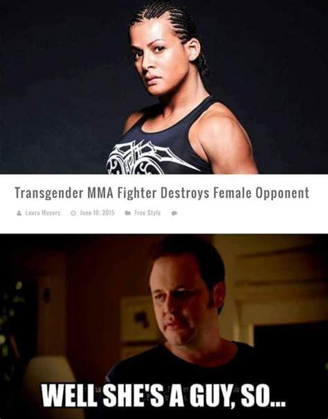 Transvestite Meme - but how does she he look in khakis