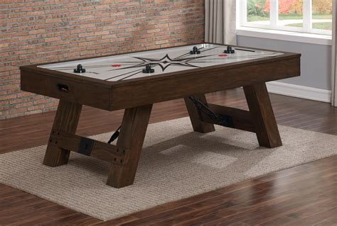 wood air hockey table air hockey table heritage billiards