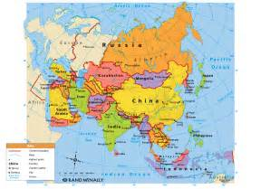 Asia Political Map by Asia Map Political