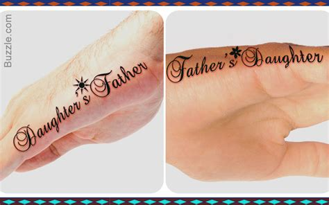 father daughter tattoos ideas 8 meaningful and fascinating designs