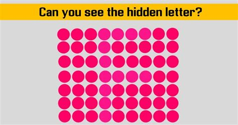 find the dots can you find the hidden letters amongst the dots surveee