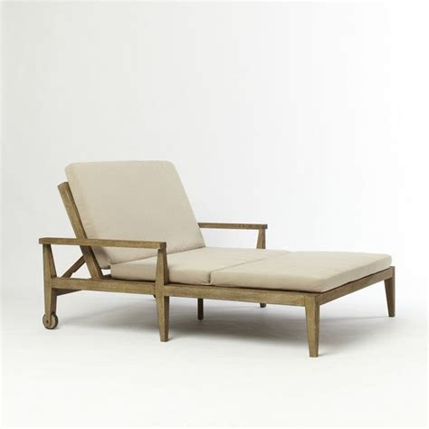 outdoor double chaise lounge chairs jardine double lounger