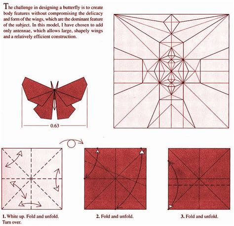 Robert J Lang Origami Diagrams - 5 best images of robert j lang origami diagrams robert