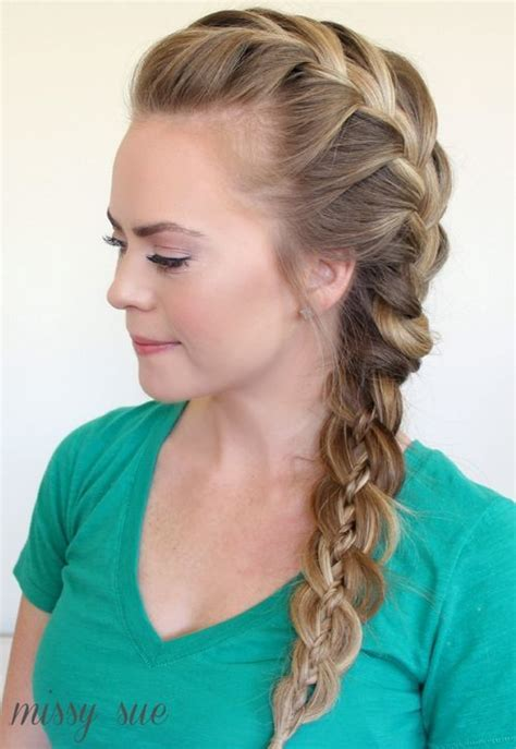 one side braid hairstyles 30 elegant french braid hairstyles