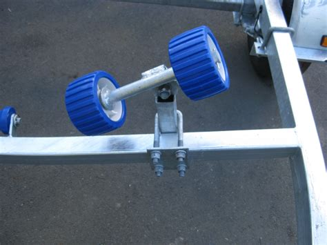 boat trailer rollers nz boat trailer with rollers suits 11 12ft boats ax390r