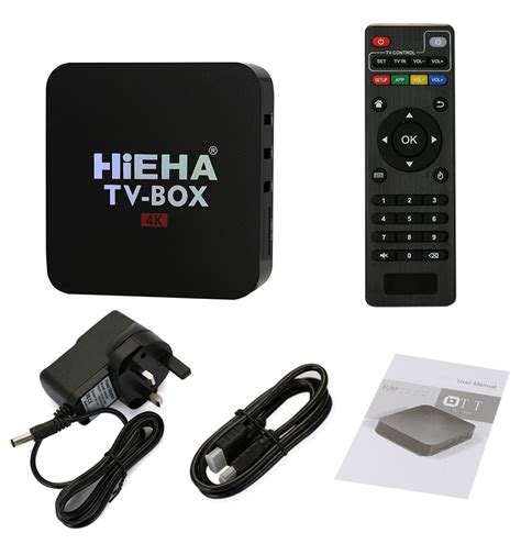 4k Player Hd Media Player Android Tv Box Mxq R9 hieha 4k smart tv box tv android 6 0 hd media player 1080p uk 163 19 00