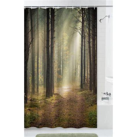 walmart com shower curtains mainstays trailblazer fabric shower curtain walmart ca