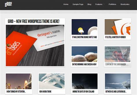 themes wordpress grid 8 free pinterest inspired wordpress themes managewp