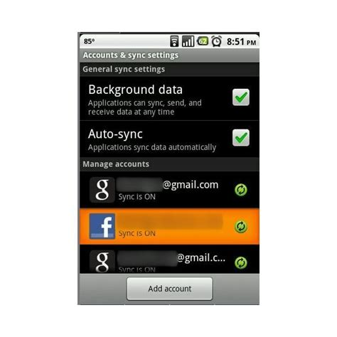 android sync contacts sync android contacts with gmail accounts