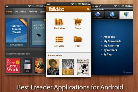 top apps for reading ebooks on android devices